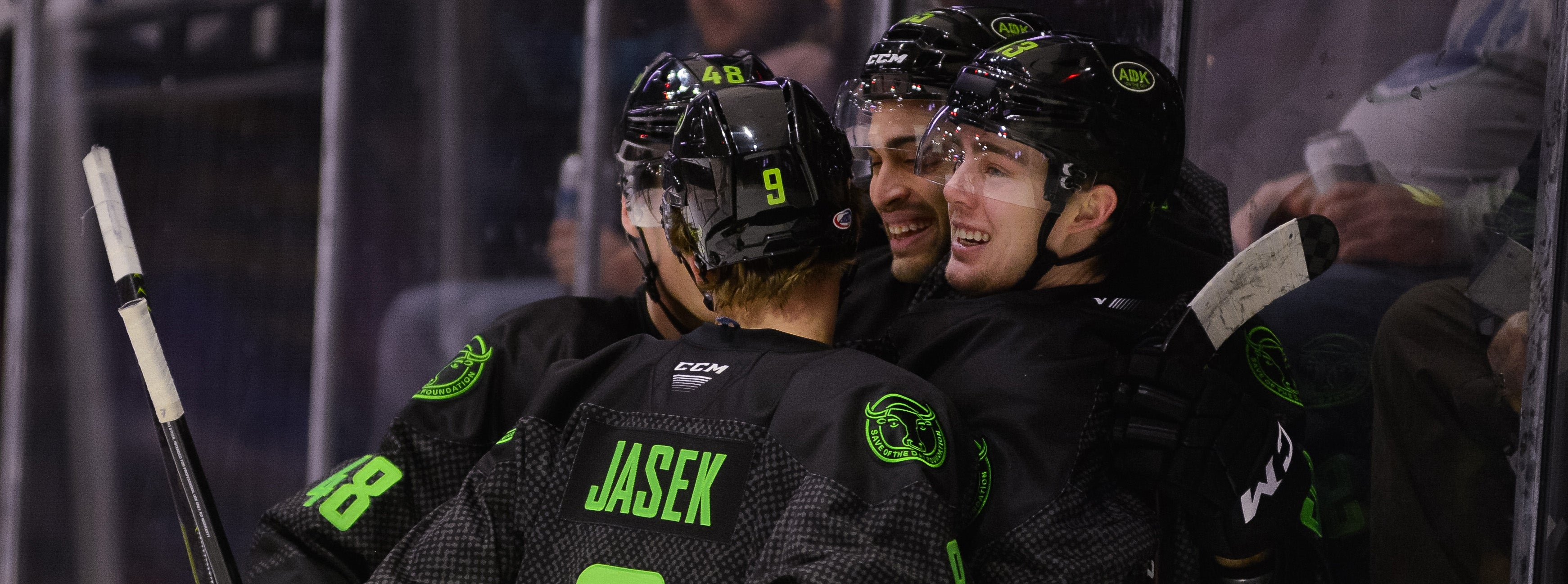BAILEY'S SECOND STRAIGHT HAT TRICK POWERS COMETS TO WIN