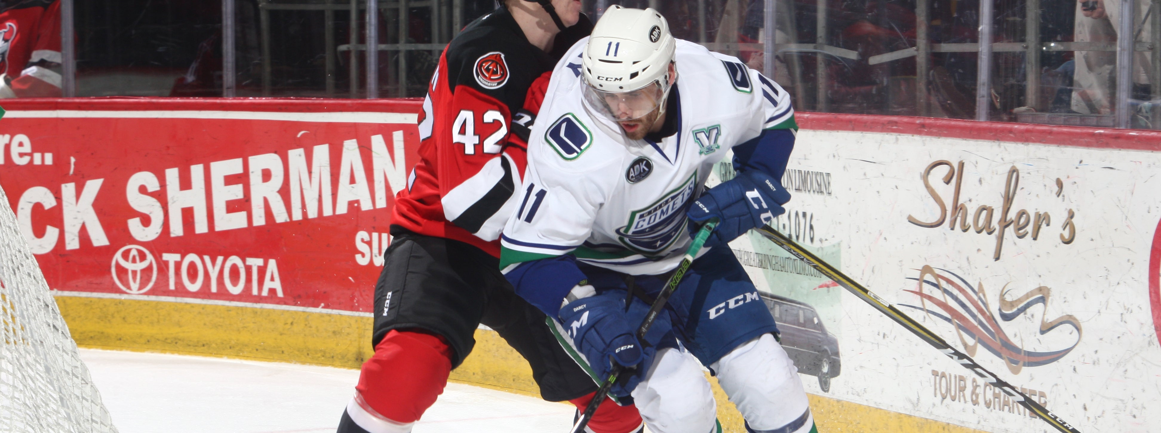 COMETS EXTEND POINT STREAK TO SEVEN WITH WIN