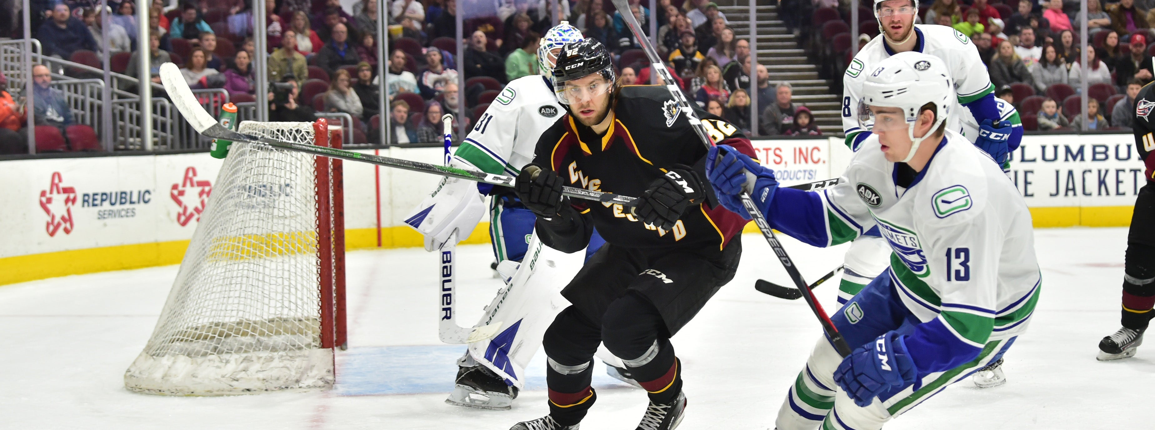 COMETS FALL VICTIM TO MONSTERS' SPECIAL TEAMS