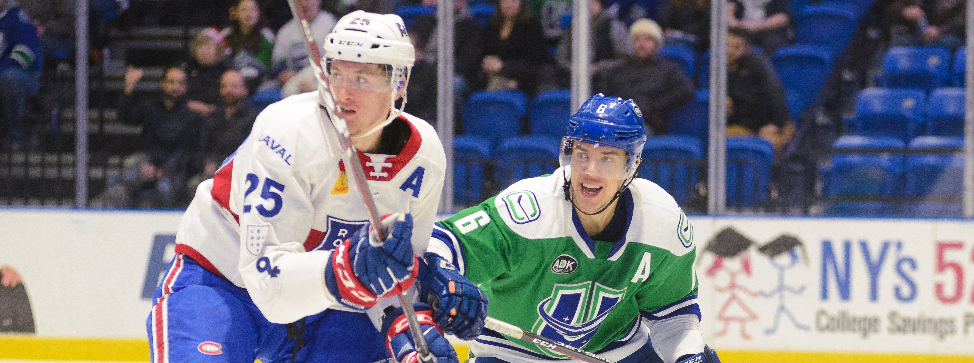 COMETS END FOUR-GAME ROAD TRIP IN LAVAL