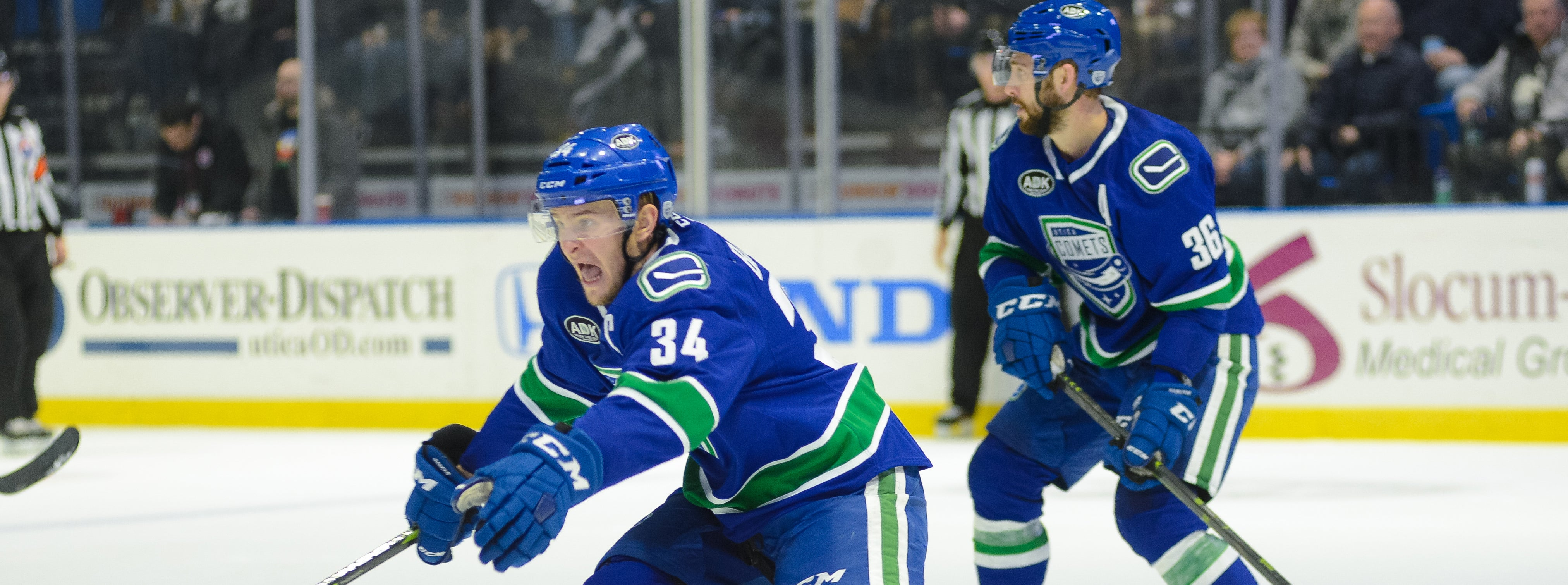 COMETS BEGIN THREE-IN-THREE AGAINST PHANTOMS
