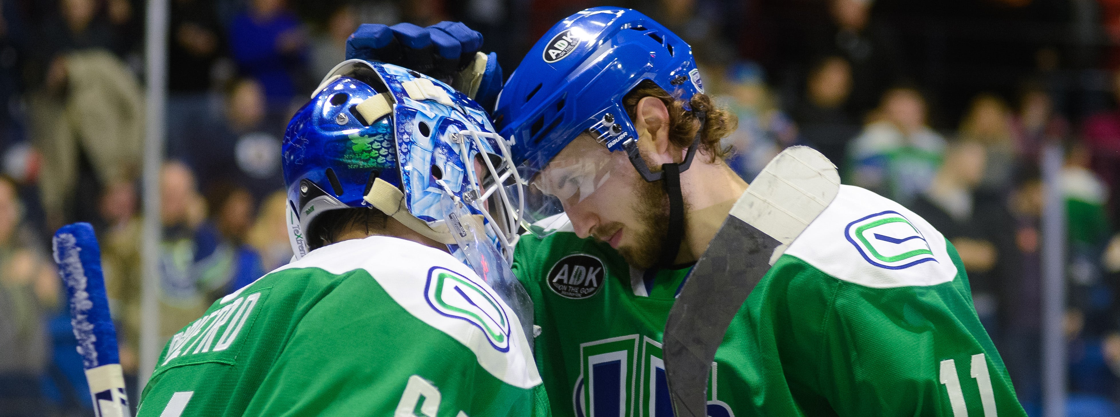 DIPIETRO, POWER PLAY PUSH COMETS PAST ROCKET