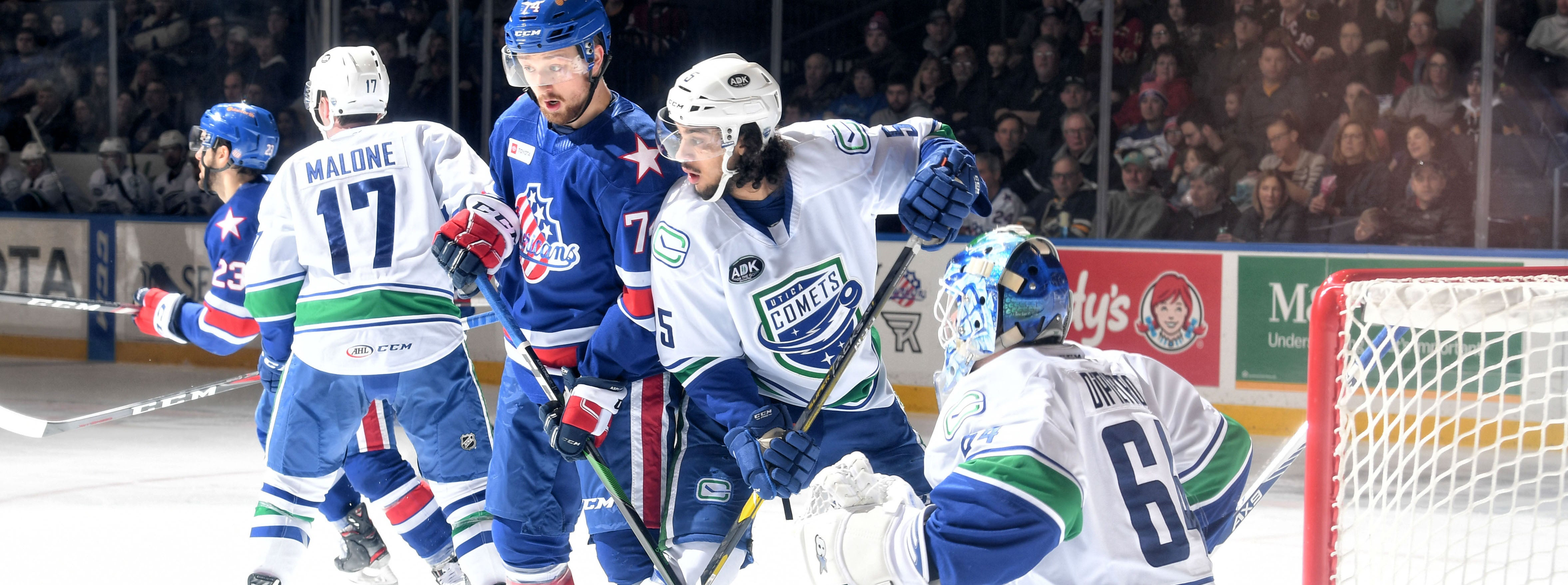 COMETS DROP DIVISIONAL TILT IN ROCHESTER