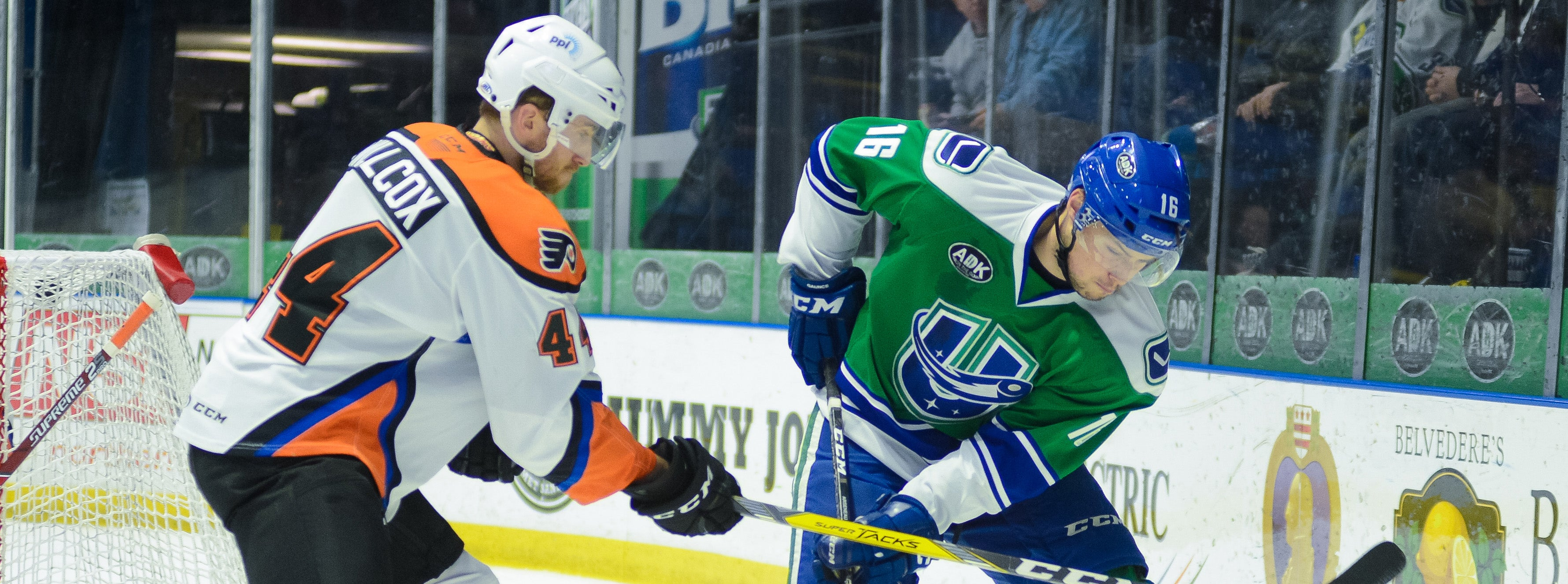 COMETS TRAVEL TO ALLENTOWN TO BATTLE PHANTOMS