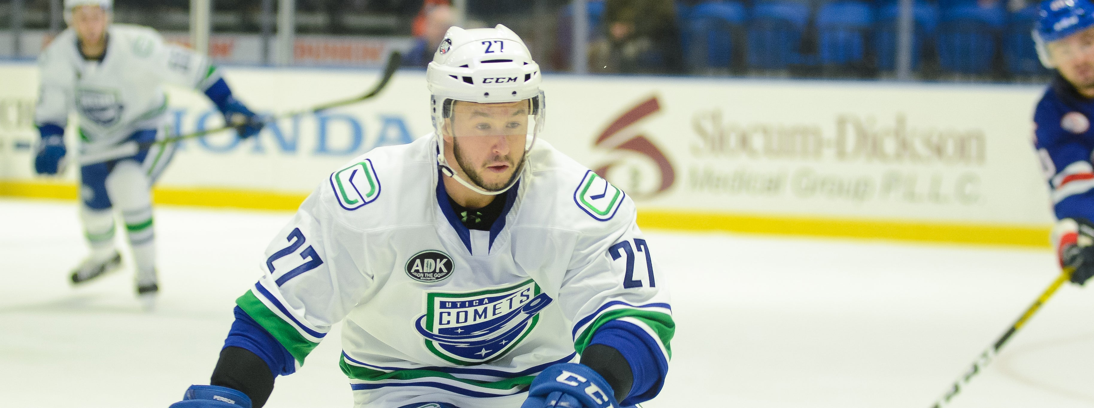 COMETS BATTLE AMERKS FOR SECOND TIME IN A WEEK