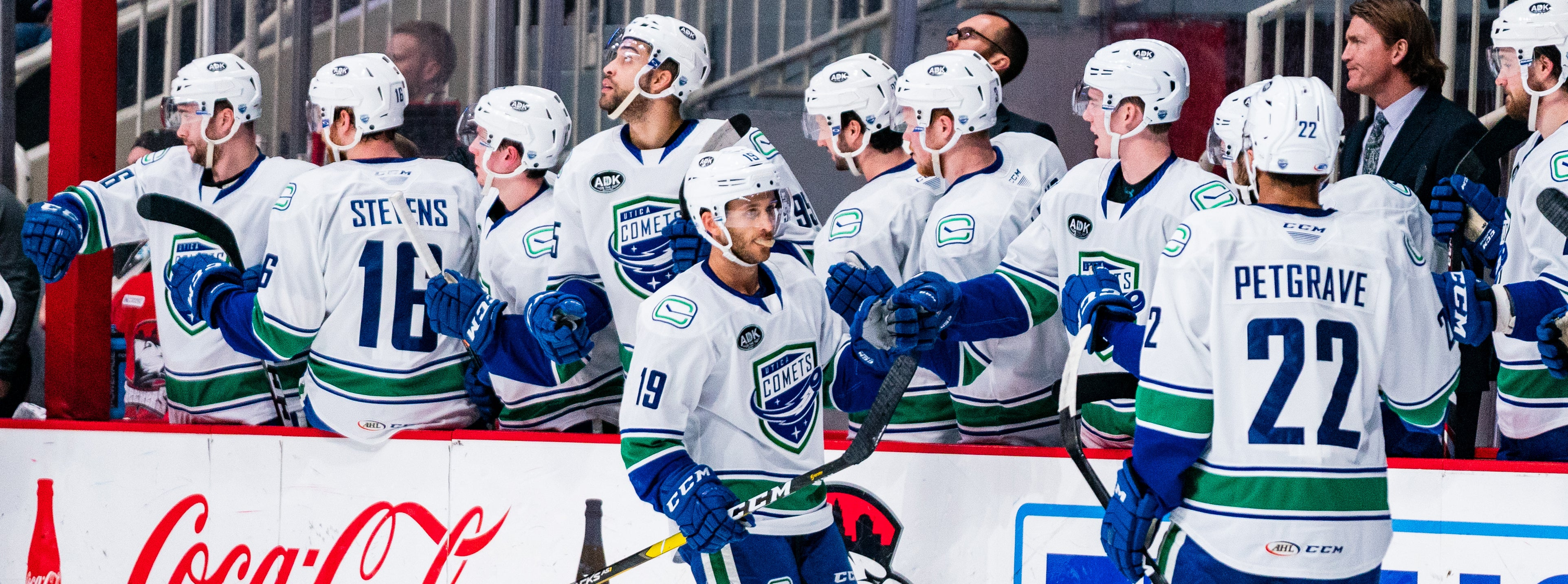 BOUCHER EARNS ANOTHER RECORD AS COMETS TOP CHECKERS