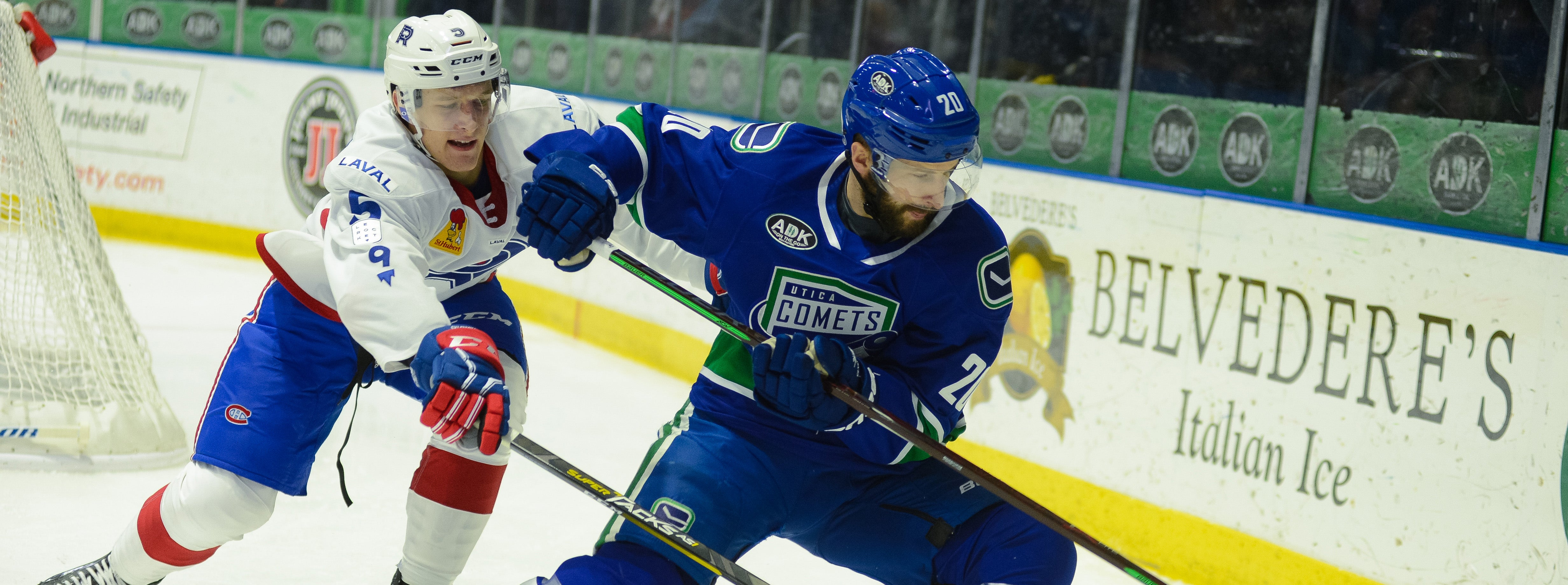 COMETS LOOK TO BOUNCE BACK AGAINST LAVAL