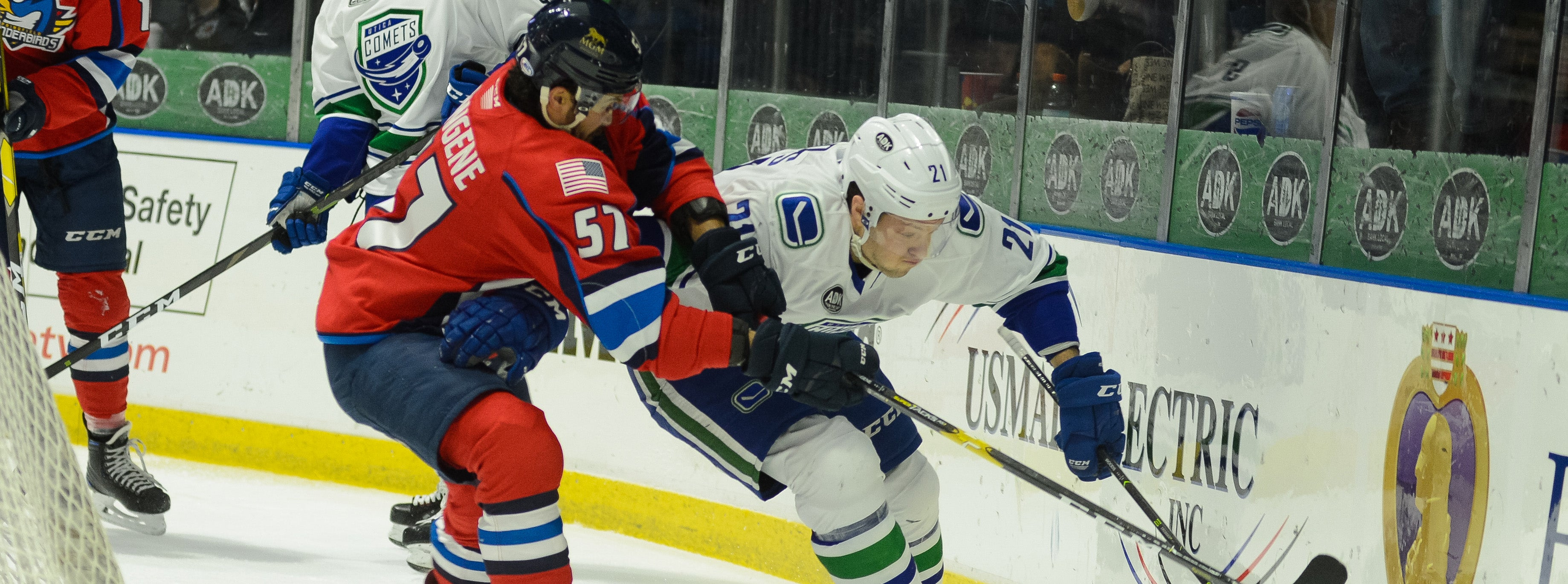COMETS LOOK TO GET BACK ON TRACK AGAINST SPRINGFIELD