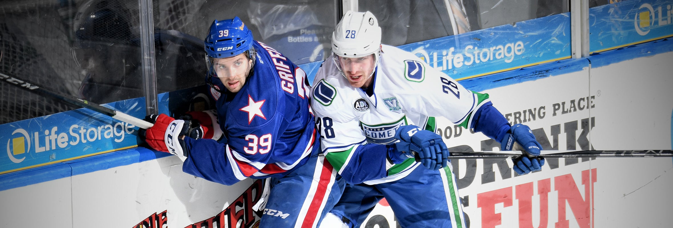 CHAPUT TALLIES THREE POINTS AS COMETS SINK AMERKS
