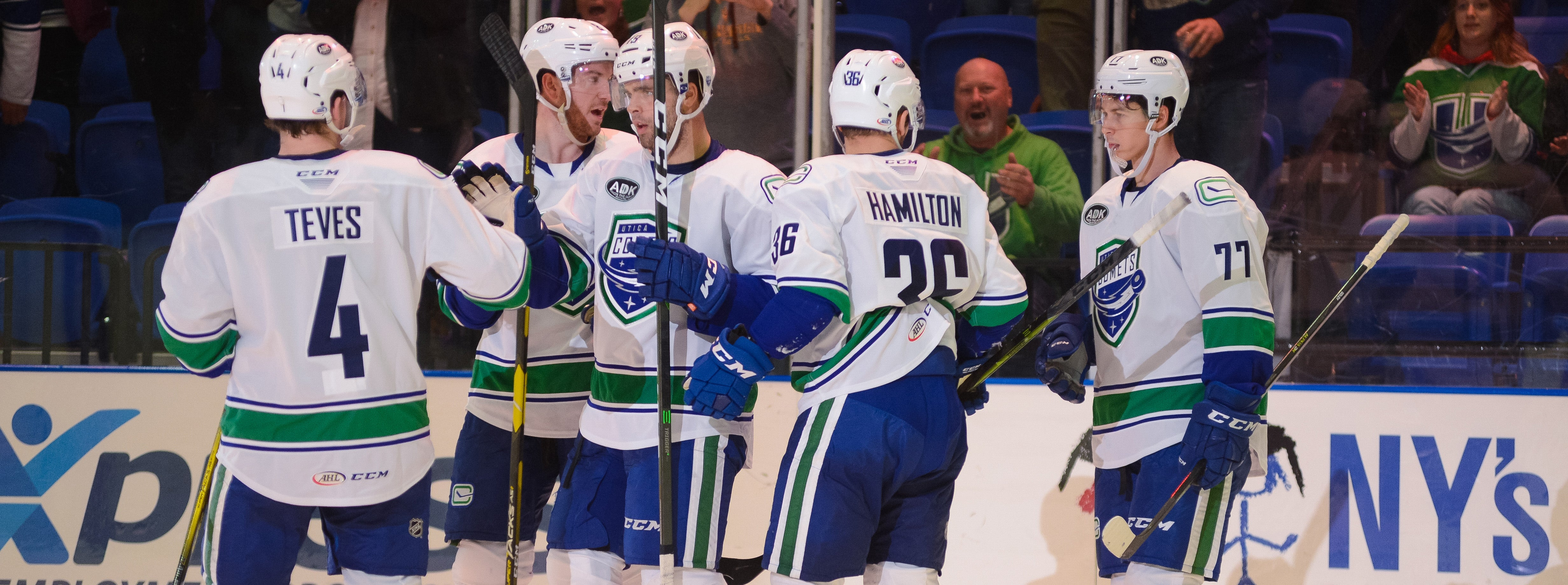 COMETS DOMINATE CRUNCH IN HOME OPENER