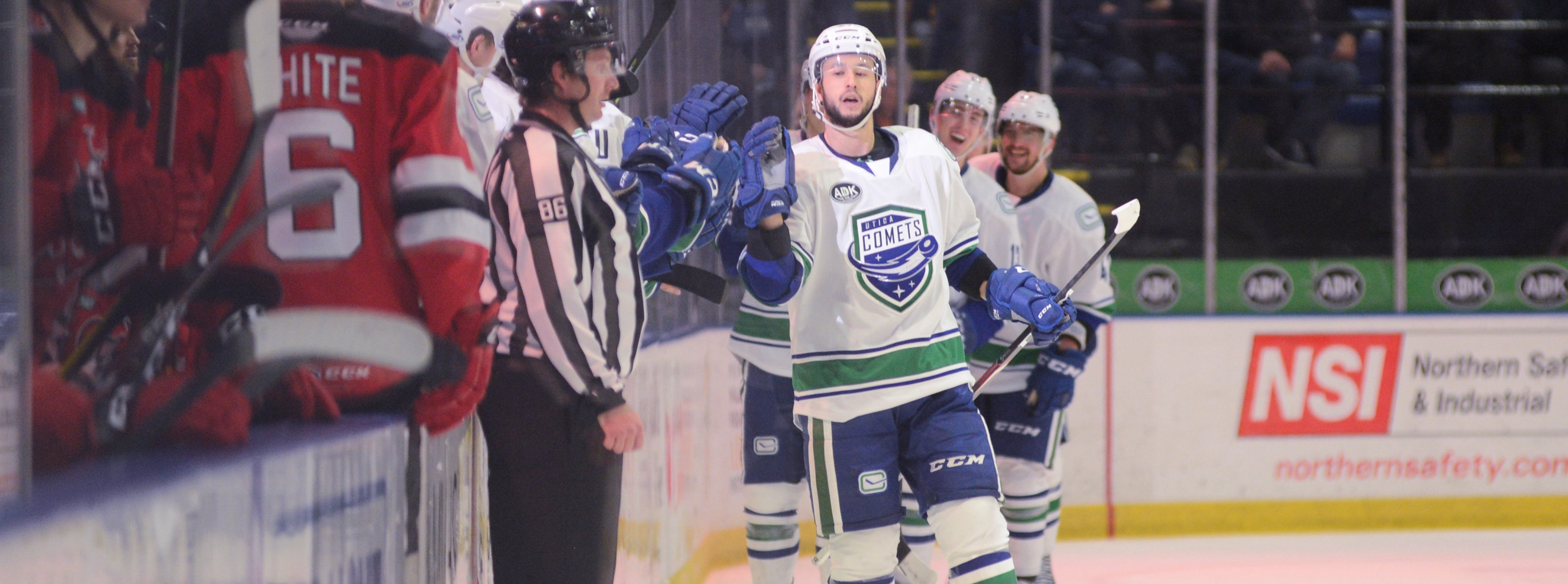 COMETS GRIND OUT WIN OVER BINGHAMTON TO STAY UNDEFEATED