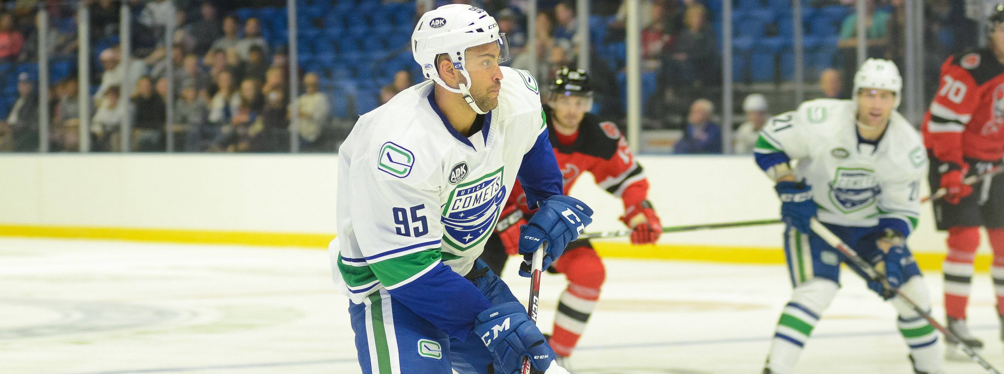 COMETS BEGIN 2019-20 SEASON AT BINGHAMTON