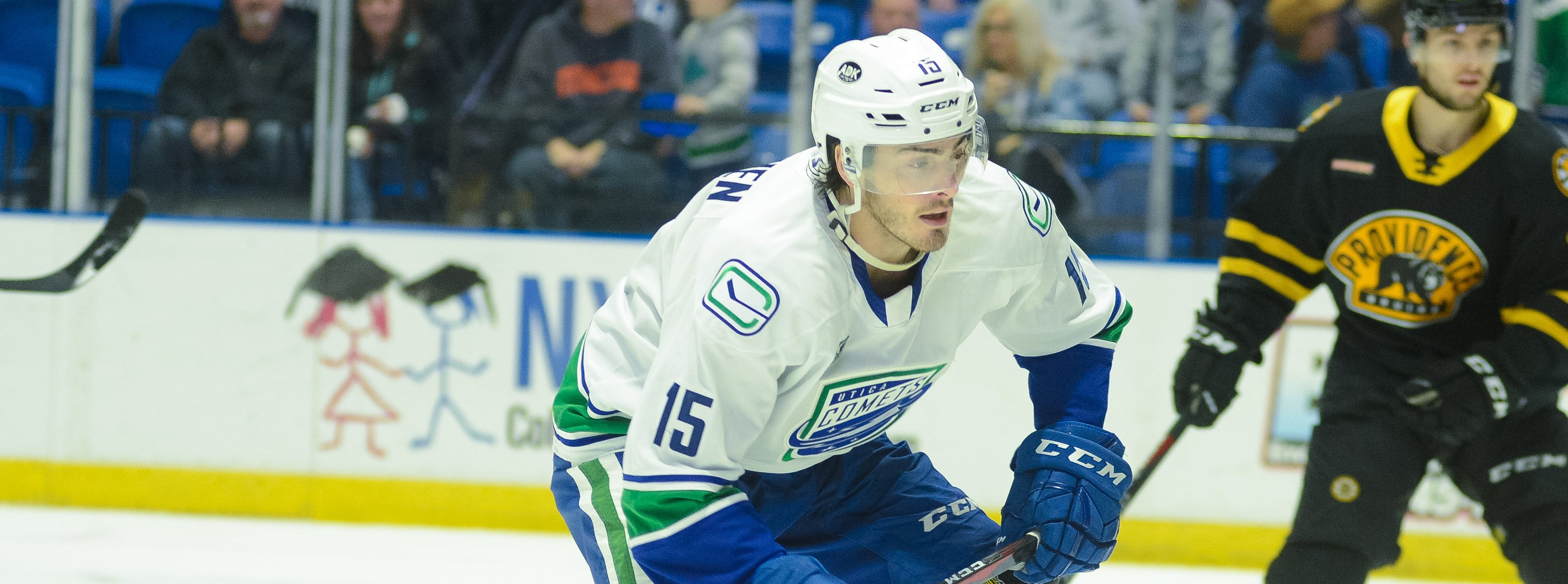 COMETS STREAK HALTED BY BRUINS SHUTOUT