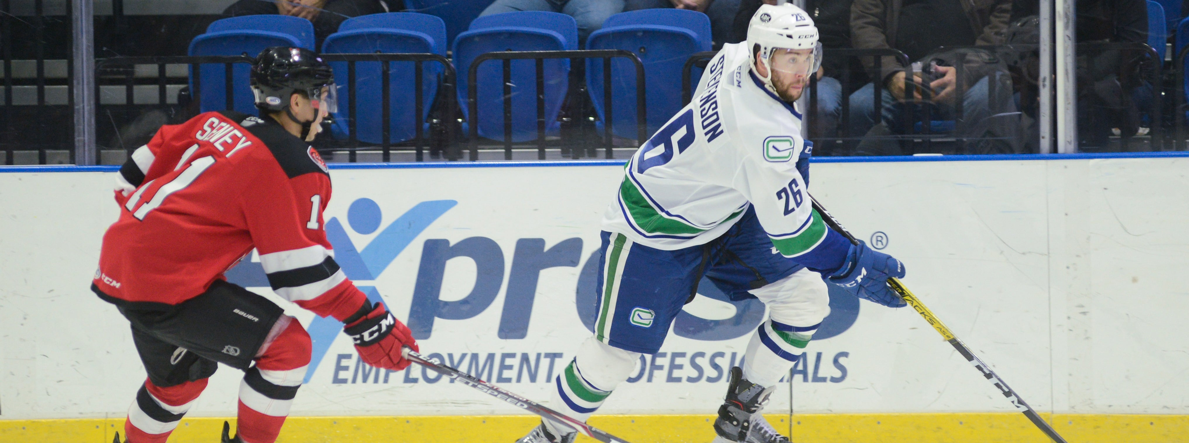 COMETS TRAVEL TO BINGHAMTON TO FACE DEVILS