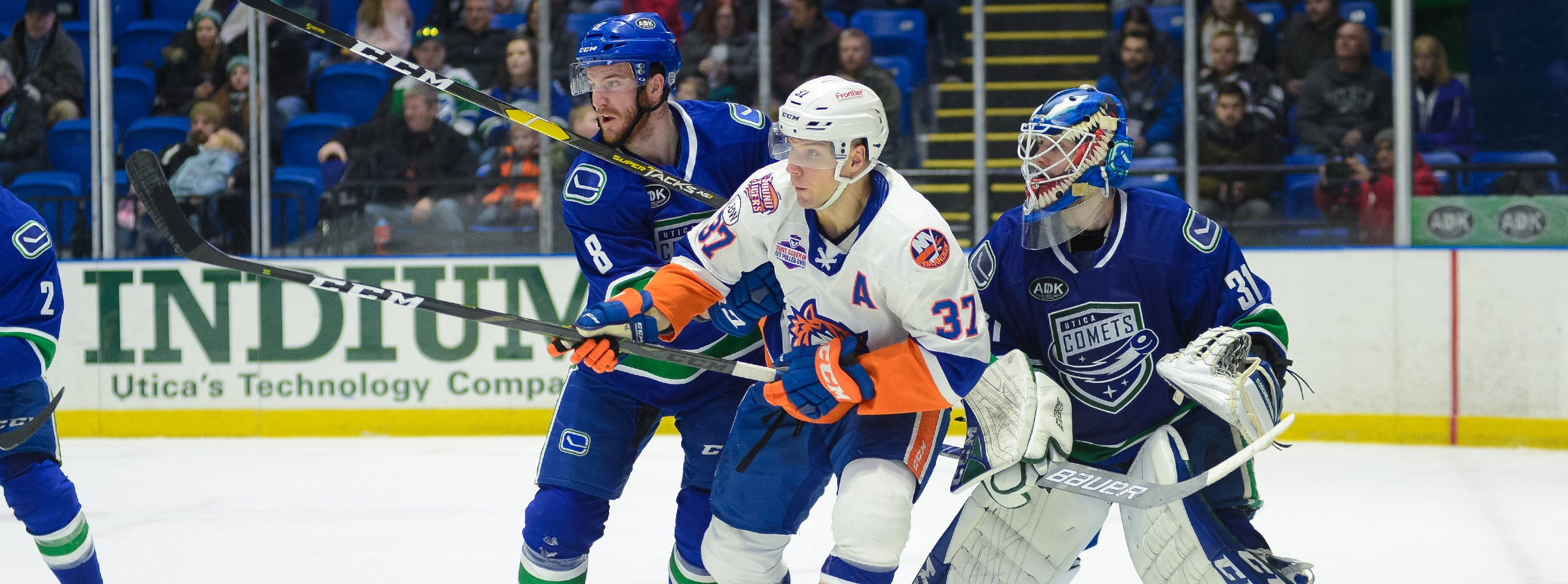 COMETS DROP BATTLE TO BRIDGEPORT IN OT