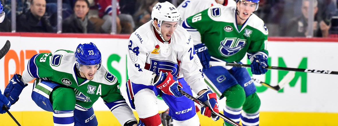 COMETS EARN WEEKEND SWEEP IN LAVAL