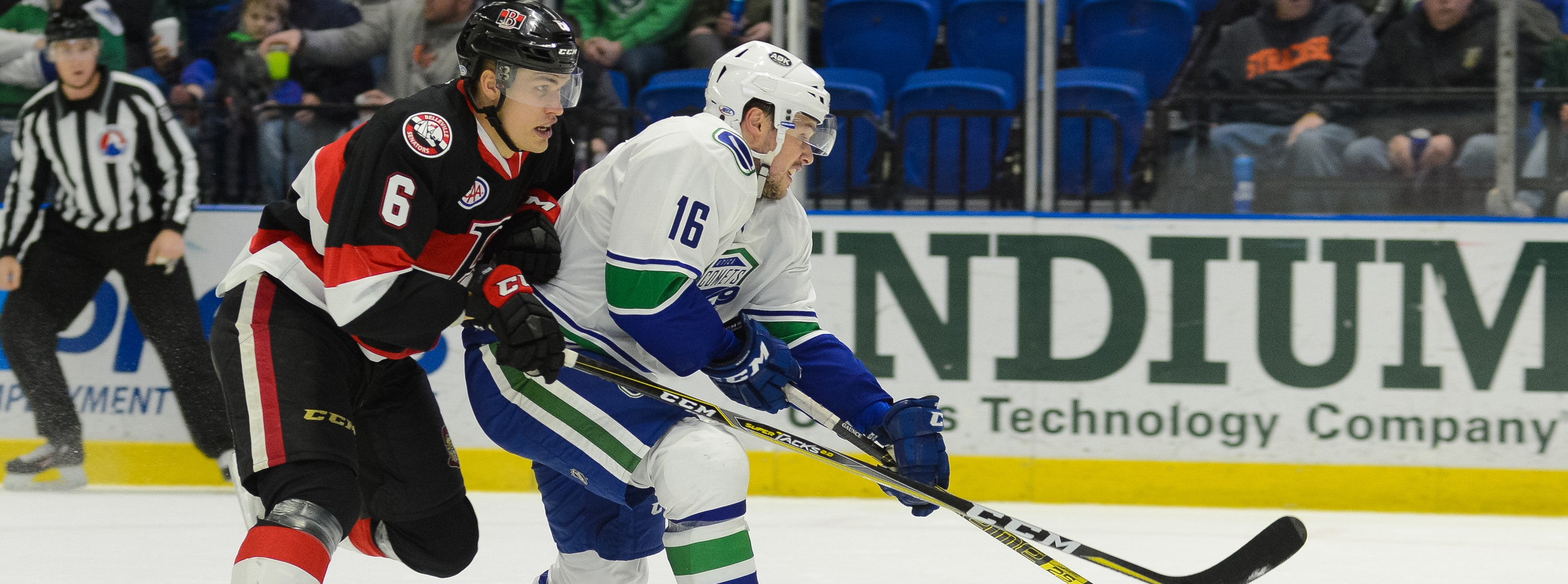 COMETS ROAD TRIP CONTINUES IN BELLEVILLE