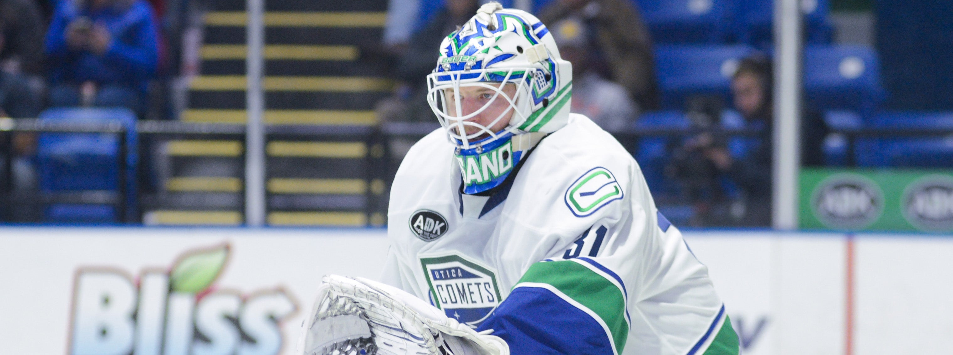 COMETS BEGIN BUSY STRETCH AGAINST BRIDGEPORT