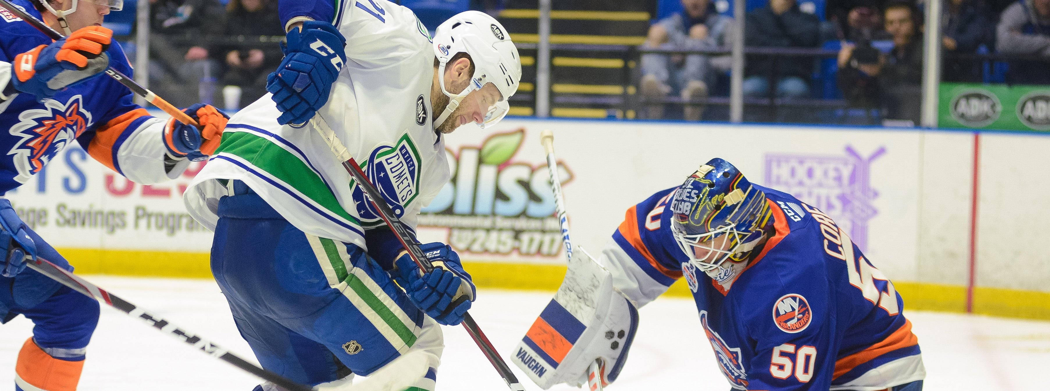 COMETS BATTLE SOUND TIGERS FOR THIRD TIME
