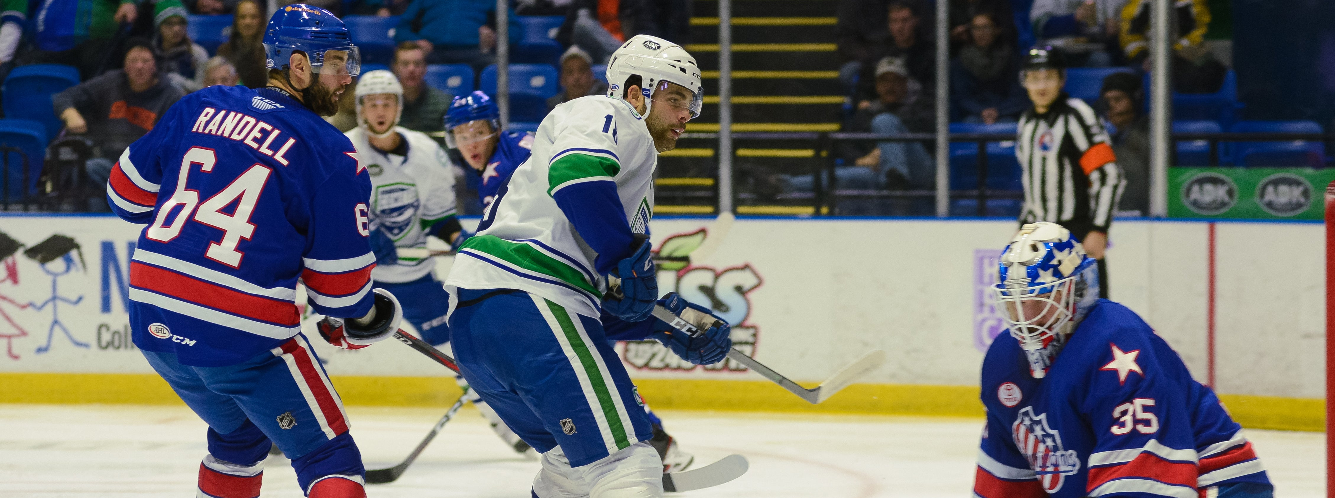 COMETS BATTLE DIVISION LEADING AMERKS