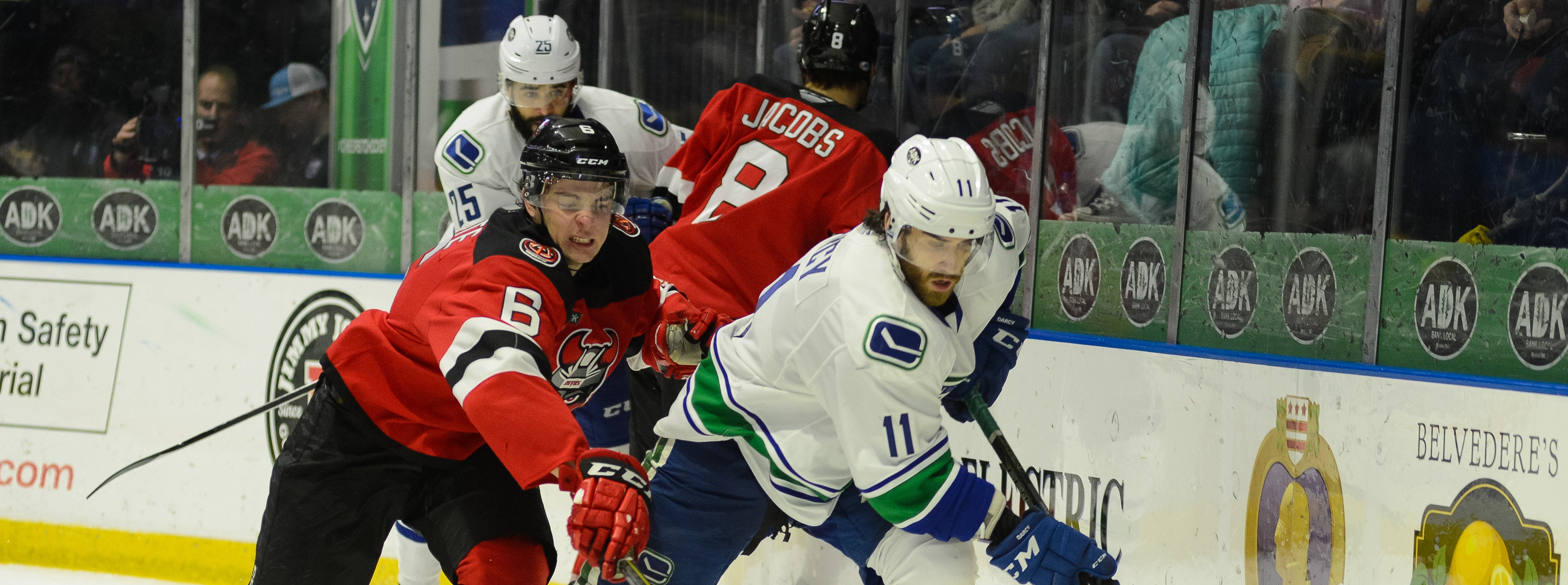 COMETS DUEL DEVILS IN SATURDAY SHOWDOWN