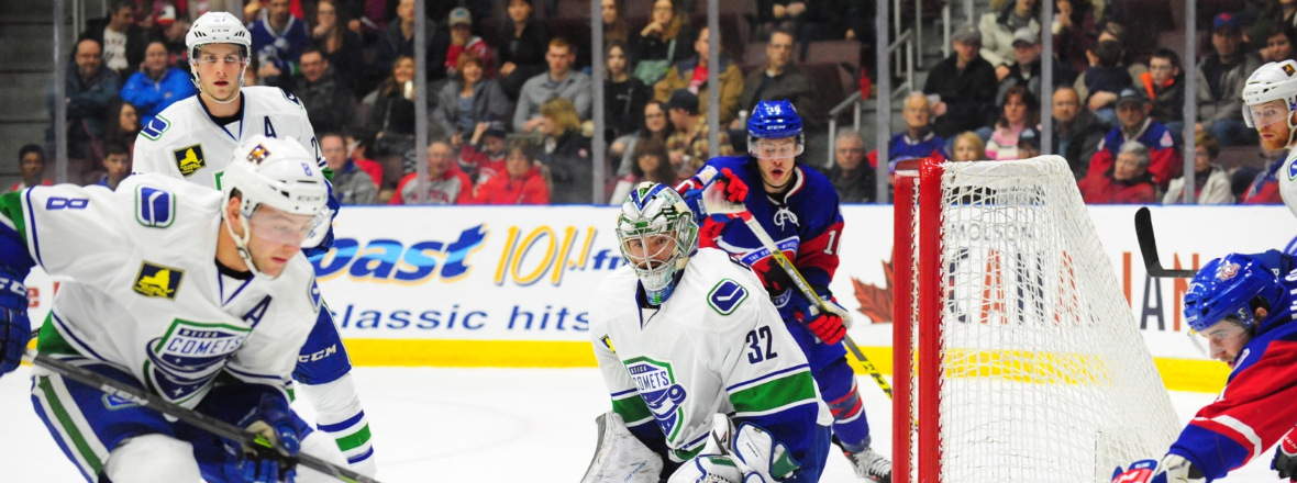 Comets Jump the IceCaps