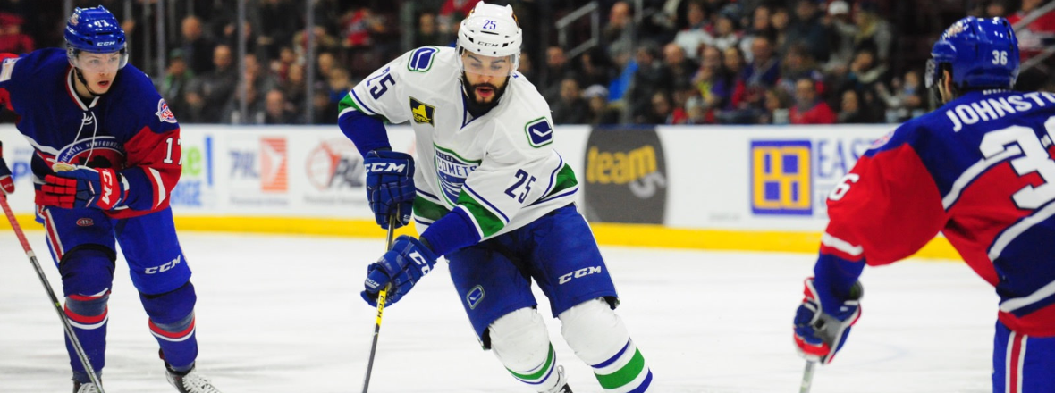 Comets Get What is Needed in Overtime Loss