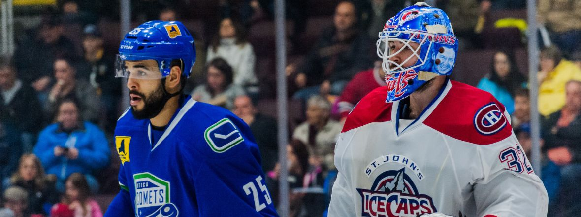 Comets Rally for Point in St. John's