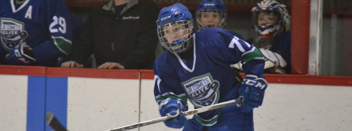 Jr. Comets Add Off-Ice Training to Schedule