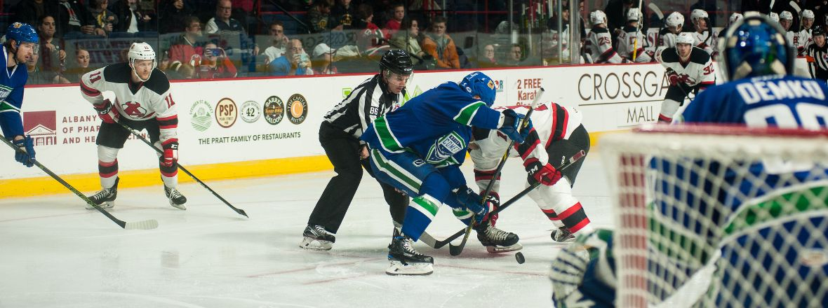 Demko and Virtanen Propel Comets to Victory