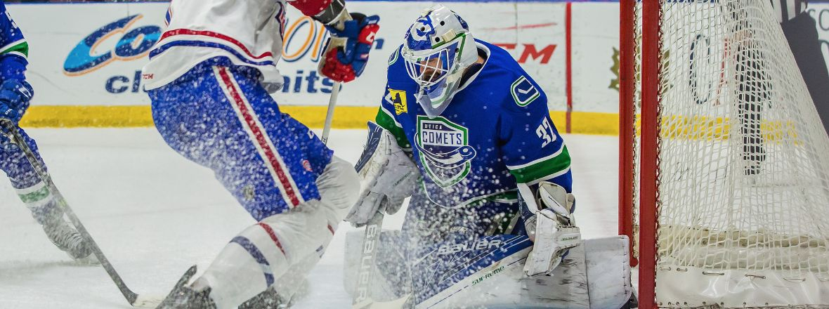 COMETS TAKE ANOTHER SWING AT ICECAPS