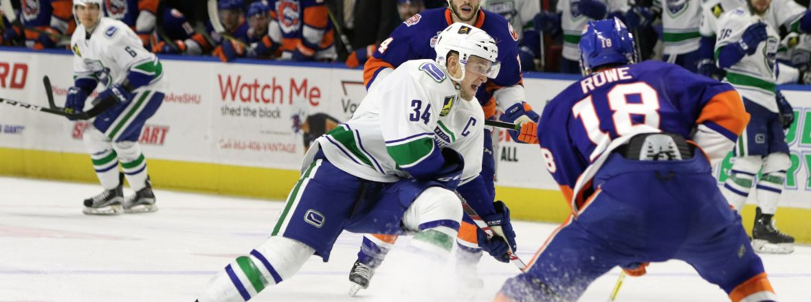 COMETS SUFFER LOSS TO SOUND TIGERS