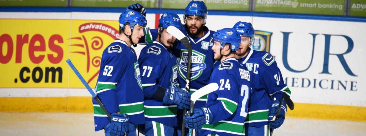 COMETS BATTLE CHECKERS FOR FIRST TIME EVER