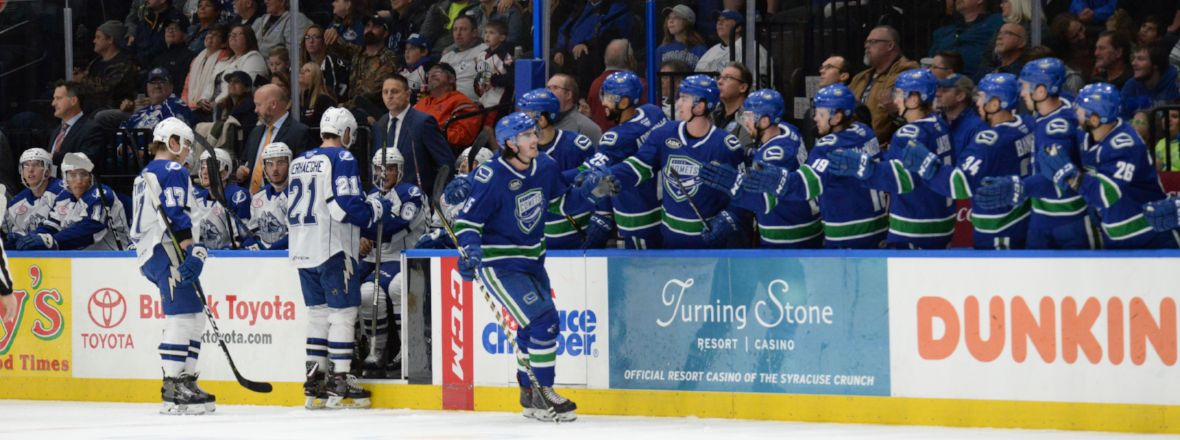 COMETS WIN THRILLER IN SYRACUSE