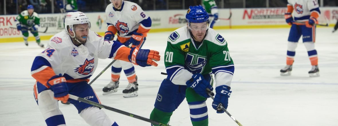 COMETS BATTLE SOUND TIGERS TONIGHT