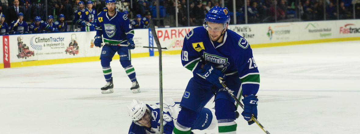COMETS RELEASE DEFENSEMAN ALEX WALL FROM PTO