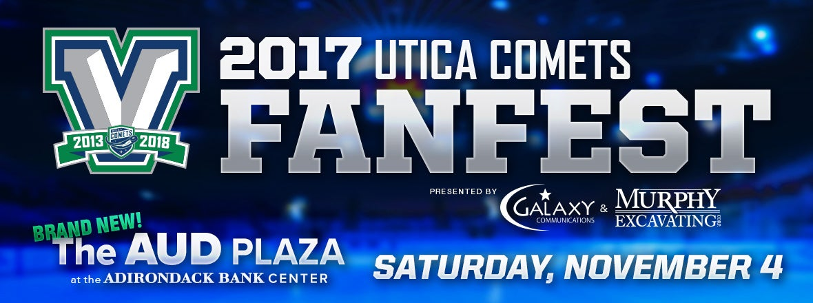 COMETS ANNOUNCE 2017 FAN FEST IN NEW AUD PLAZA