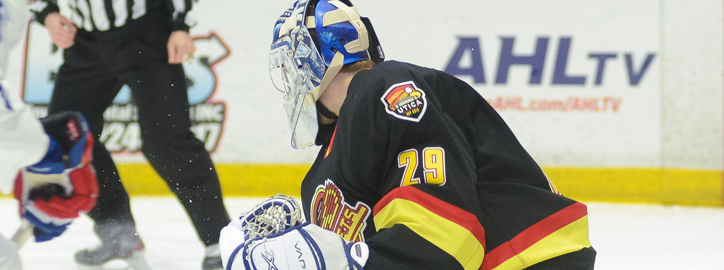CANUCKS SIGN GOALTENDER JAKE KIELLY TO A ONE-YEAR, TWO WAY CONTRACT
