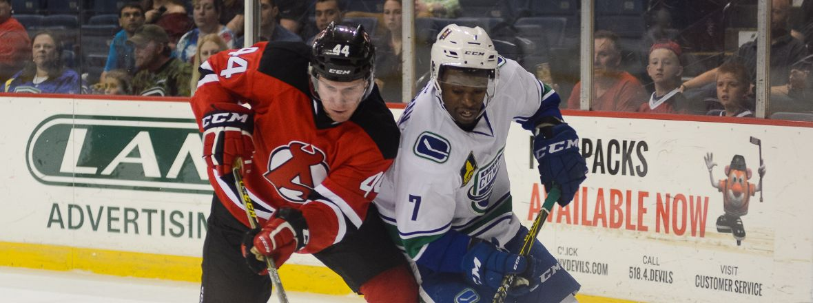 Comets Struggles Against the Devils Continue