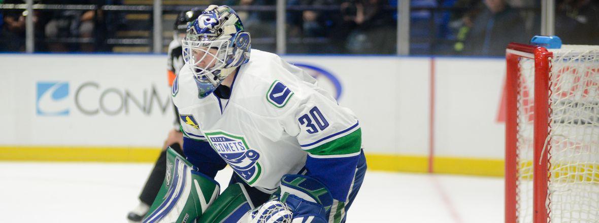AHL: Demko To Keep Promise - Goalie Prospect Balances School And Pro Game