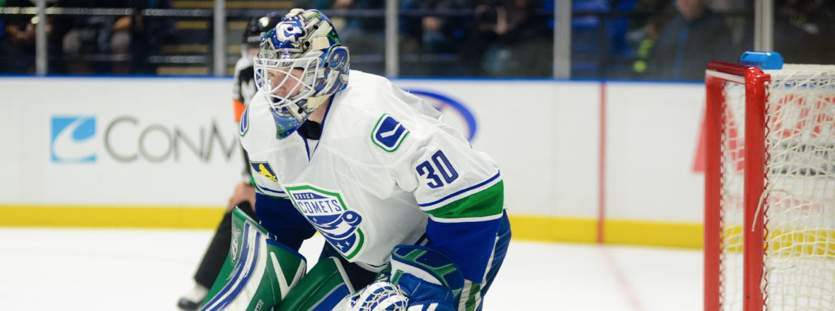 CANUCKS RECALL THATCHER DEMKO, COMETS SIGN J.P. ANDERSON