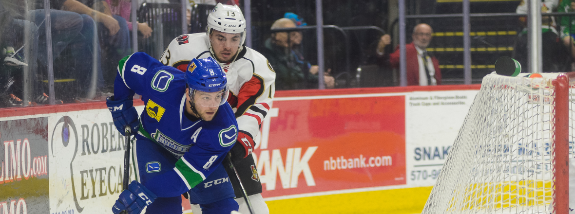 Comets Snap Skid in Explosive Fashion