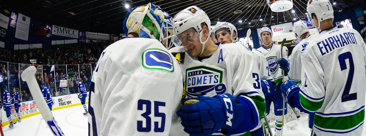 Comets Blank AHL's Goliath
