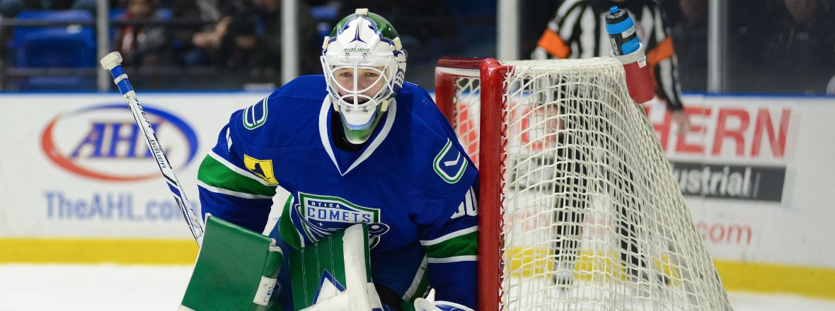 DEMKO'S SHUTOUT GIVES COMETS FOURTH STRAIGHT WIN