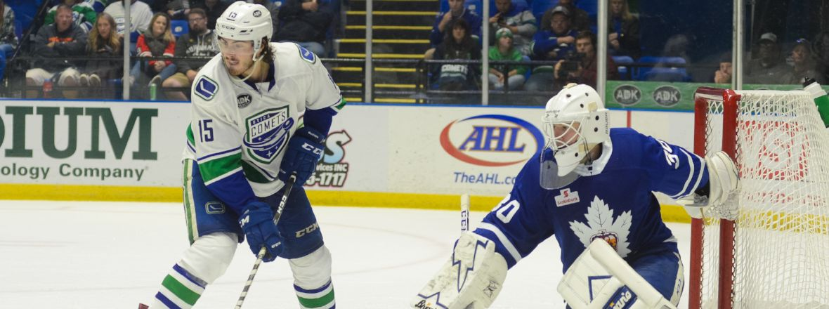 COMETS, MARLIES MEET FOR THIRD TIME THIS SEASON