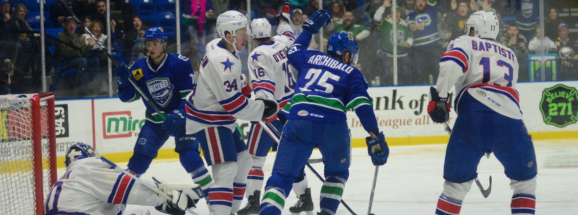 COMETS SEEK REVENGE TONIGHT AGAINST AMERICANS