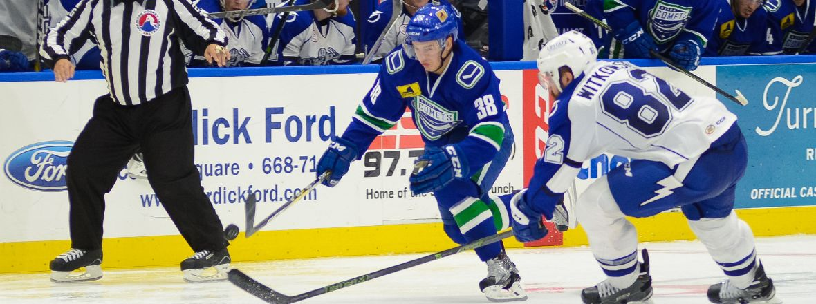 Comets Come Up Short in Syracuse
