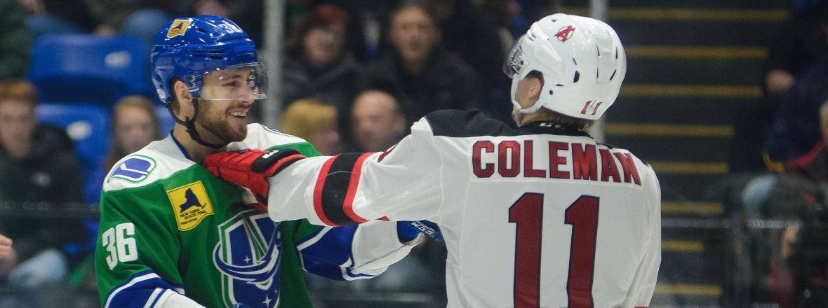 COMETS LOOK TO CONTINUE SUCCESS AGAINST DEVILS