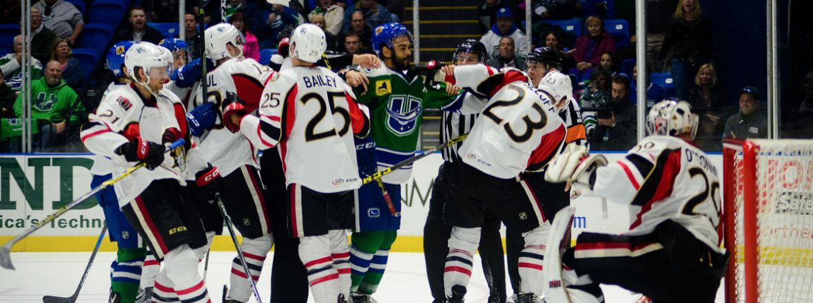 COMETS VISIT BINGHAMTON FOR FINAL TIME THIS SEASON