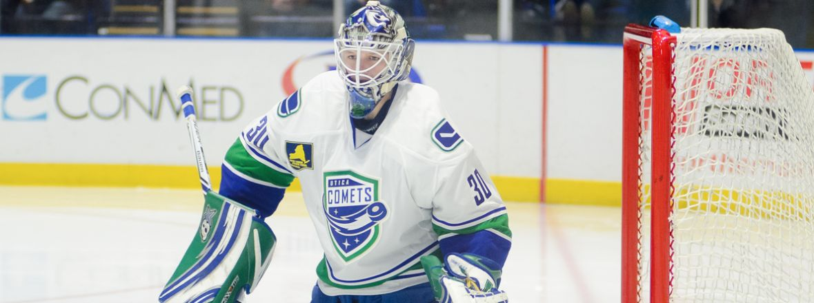 Canucks re-assign Demko, Comets release Anderson